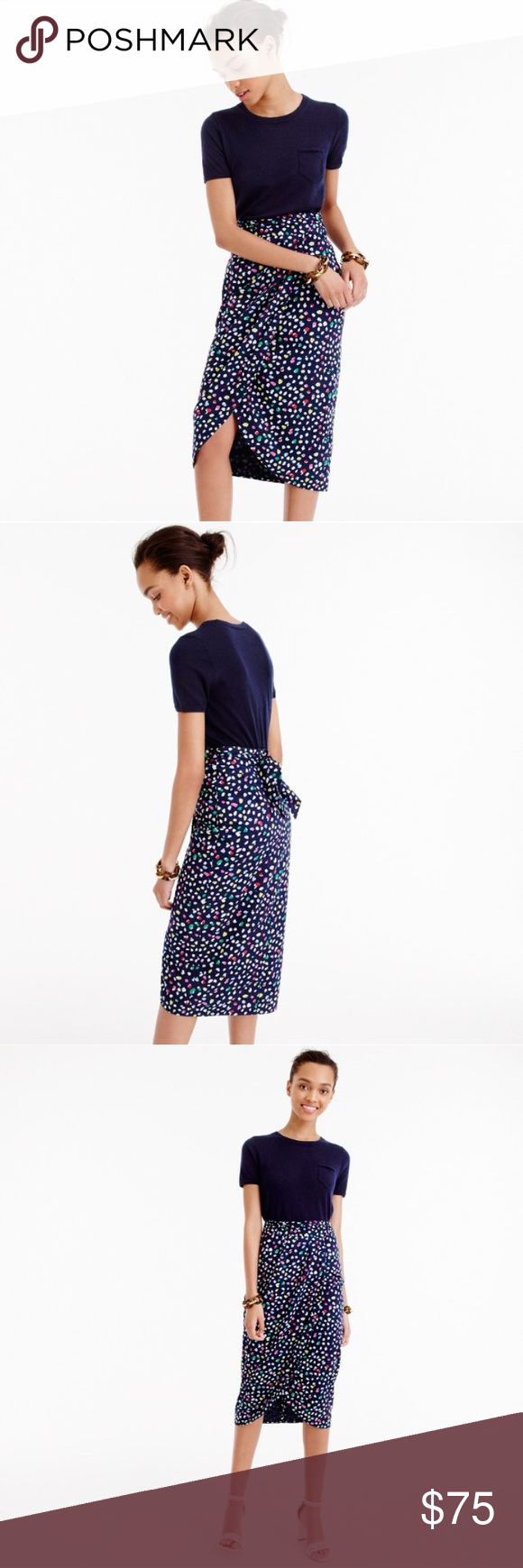 J. Crew Tulip Skirt in Ratti Happy Cat Print Size6 NWT J.Crew Tulip Skirt in Ratti Happy Cat Print Size 6. No trades. Comes from a smoke free pet free home. J. Crew Skirts Midi