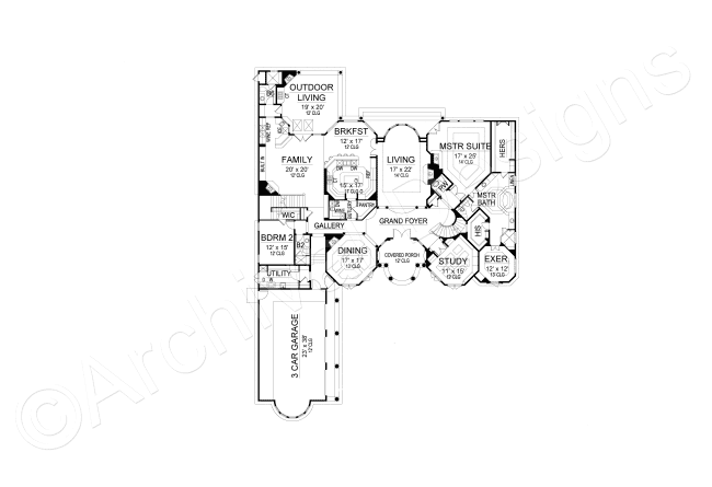 Cordillera House Plan Luxury House Plans House Plans Mansion Floor Plan