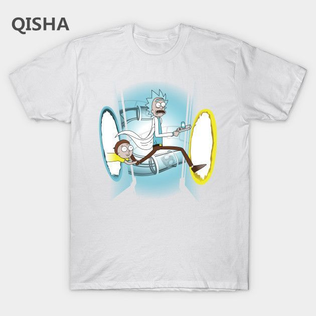 6d8bef5ab51 Rick and Morty Portal T-Shirt