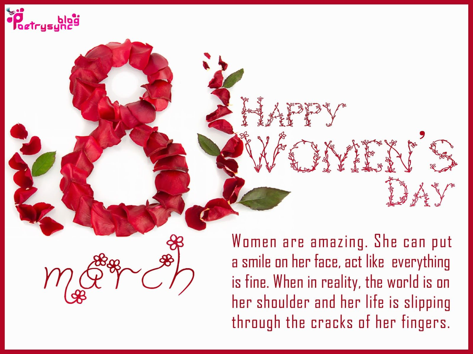 Happy international womens day wishes and greetings message sms happy international womens day wishes and greetings message sms card image kristyandbryce Images