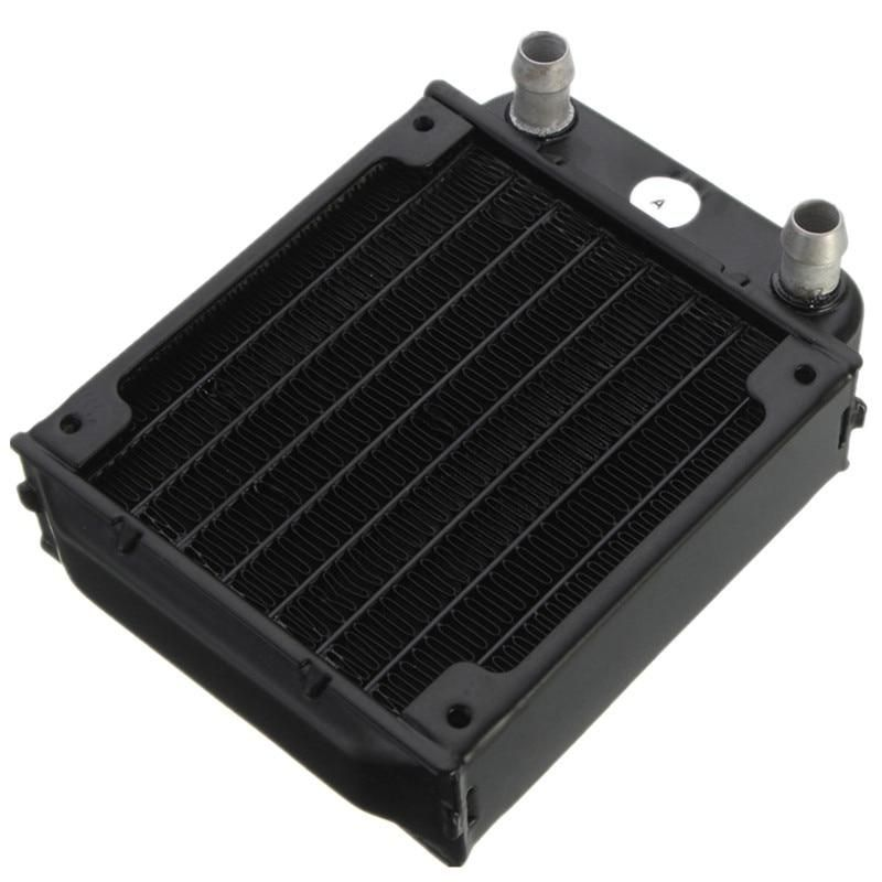 80mm Aluminum Computer Radiator Water Cooling Cooler For Computer