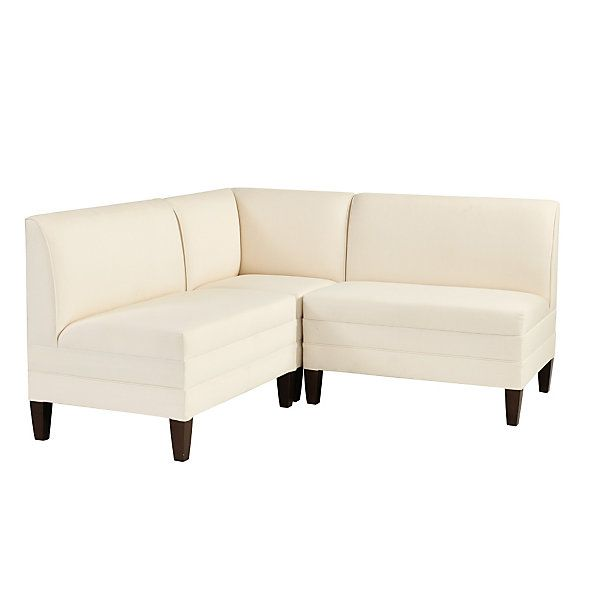 Bristol Sectional: Corner Bench with Two 36\