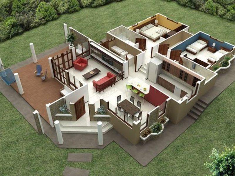 3d Raumplaner Die Kreative Wohnungsgestaltung Grundriss App Zimmereinrichten Wohnzimmer Schlafzimme Moderner Hausgrundriss Moderne Home Plane Haus Plane