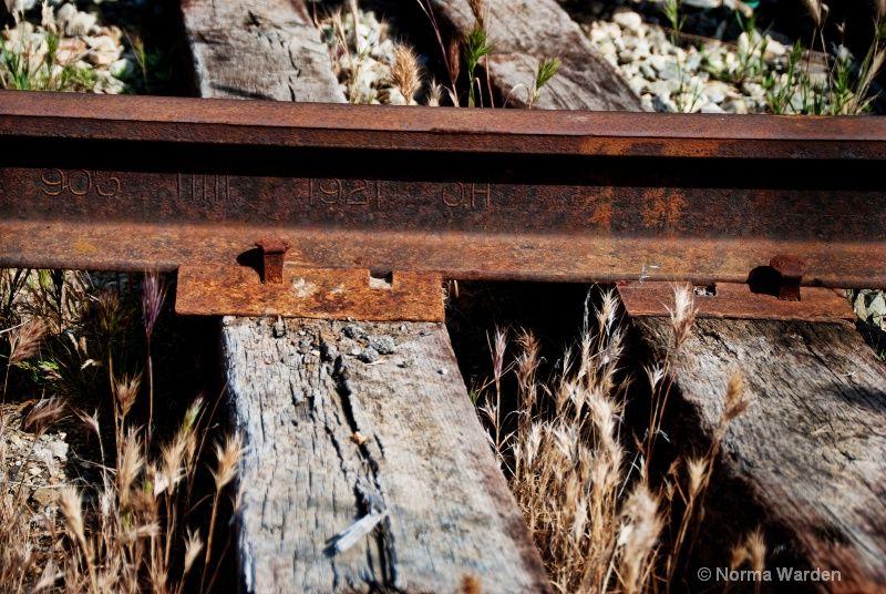 Railroad Track Circa 1921