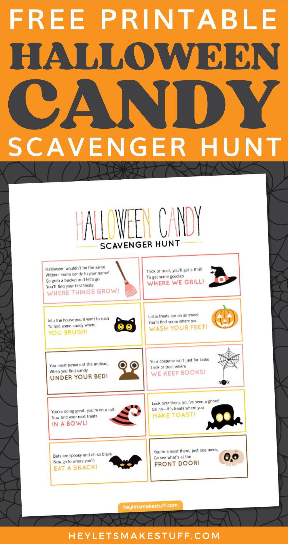 10+ Outdoor halloween scavenger hunt ideas trends