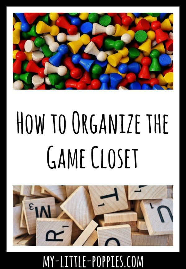 Tips And Tricks For Game Closet Organization. Be Sure Your Family Is  Playing Their Favorite