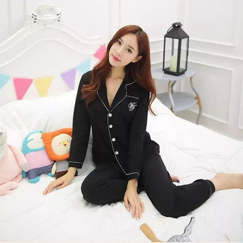 XXL 플러스 사이즈 잠옷 파자마 팜므 Mujer 밤 정장 잠옷 잠옷 팜므 Coton Pijamas 성인 유니콘 잠옷