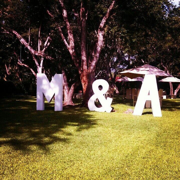 #letrasgigantes #bodasmorelos