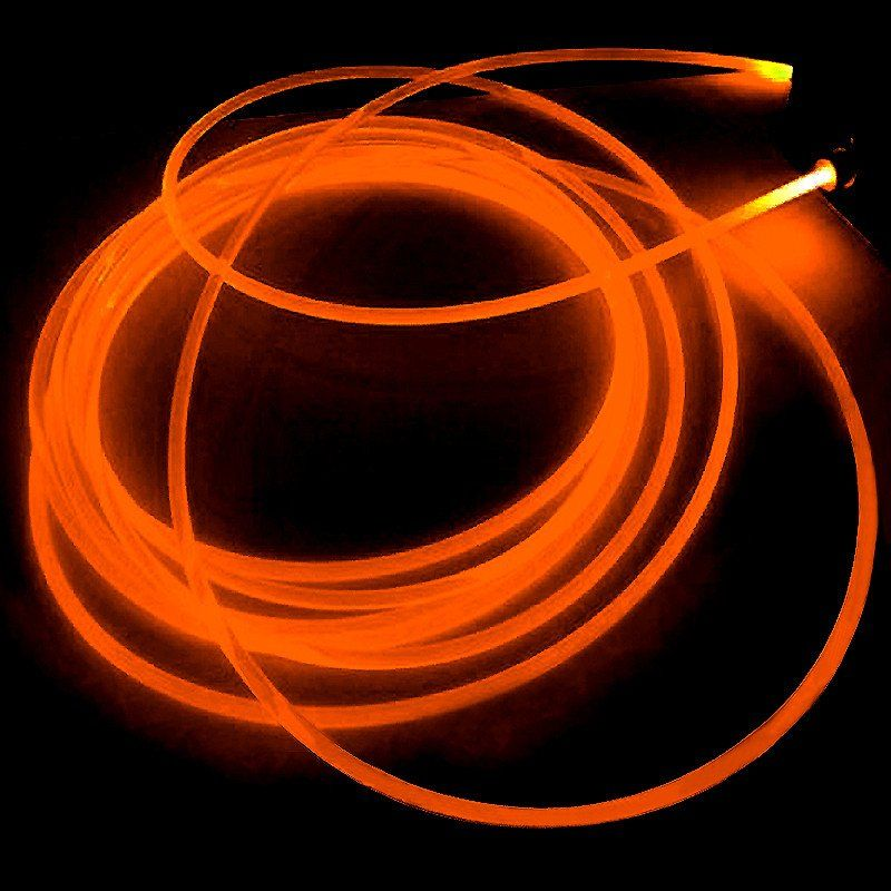 15ft sound activated neon led tube rope light orange led tubes 15ft sound activated neon led tube rope light orange aloadofball Images