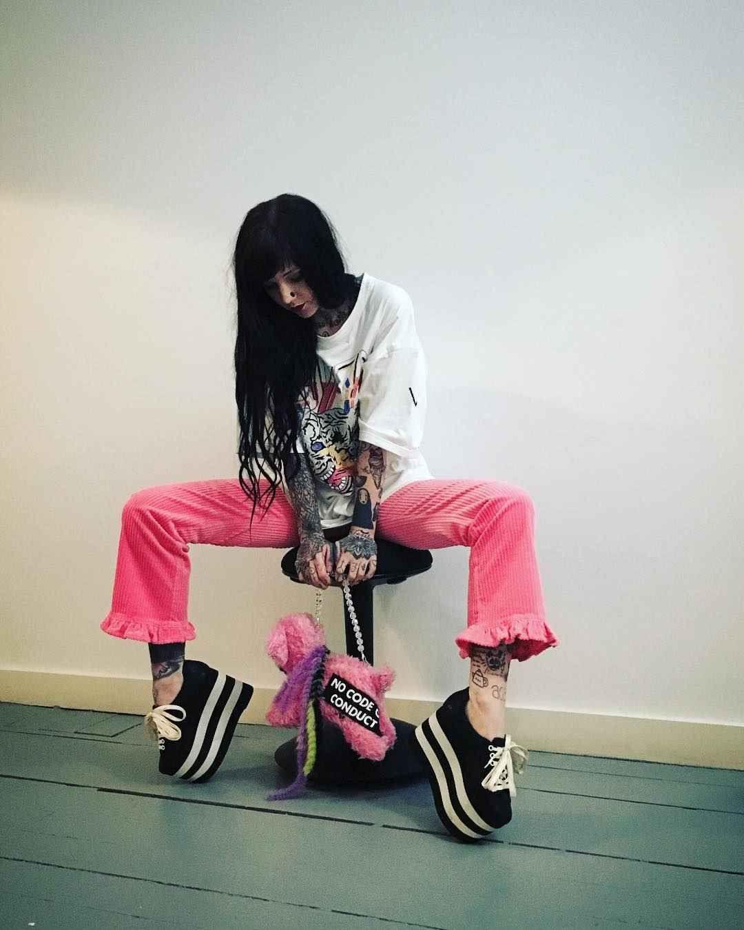 Tattoo artist, model and TV star Grace Neutral | United Kingdom | #inkpplcom #inkpeople #inked #tattoo #models #tattooed #inkedmodel #inkedgirls #tattooedmodel #alternativemodel #famoustattooedgirl #fashionmodel #inkmodels #NeedlesandPins #inkmodel #inkgirls #tattooedgirls