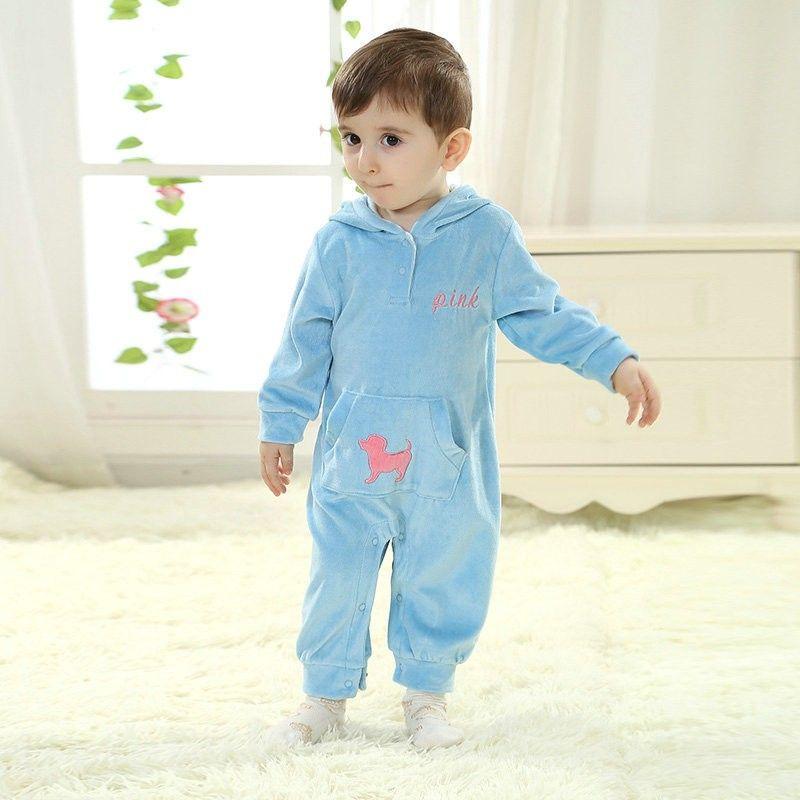 63f7e16ad Blue Kigurumi Onesies Pajamas Costumes Toddler Pajamas for Baby ...