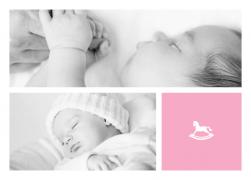 Rocking Baby Corner - Birth Announcements