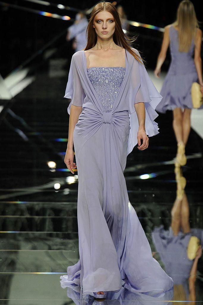 Elie Saab Spring 2009 Ready-to-Wear Fashion Show - Olga Sherer (NATHALIE)