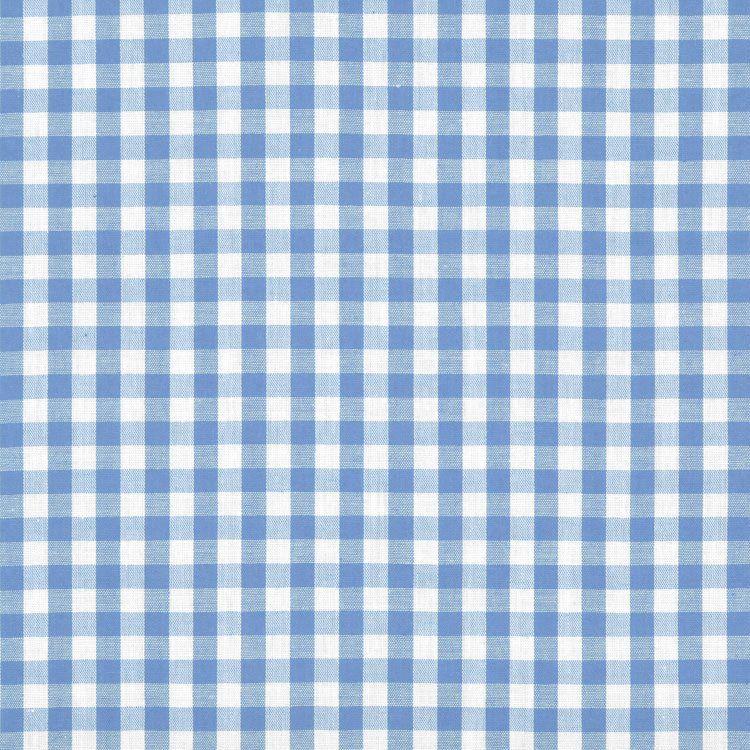 "1/4"" Blue Gingham Fabric วินเทจย้อนยุค, สติกเกอร์, วอลเป"