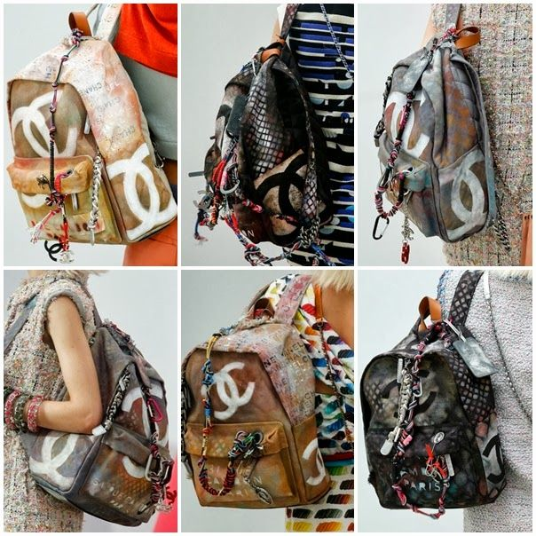 27451a946 mochila Chanel 2014 Bolsas De Grife, Bolsas De Couro, Esquilo, Mochila  Chanel,