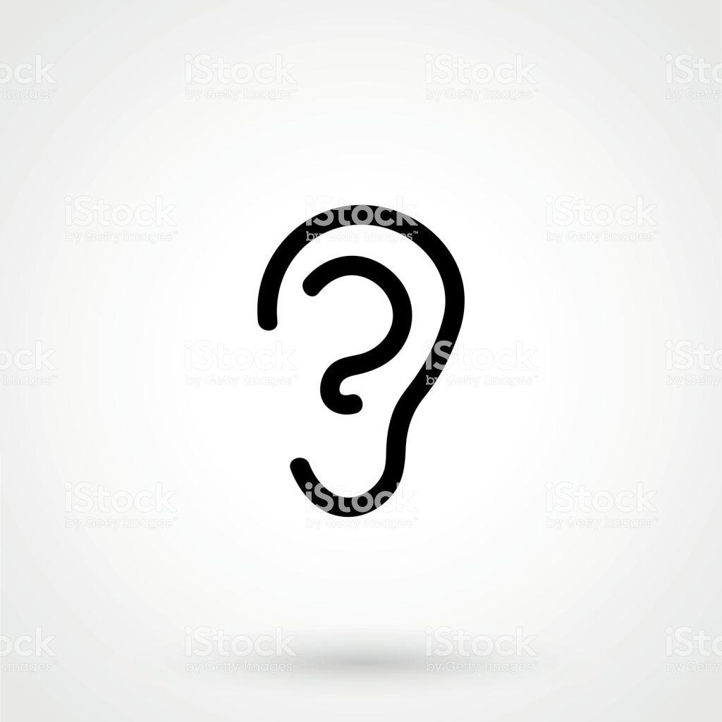 Ear Icon Icon Logo Design Ear
