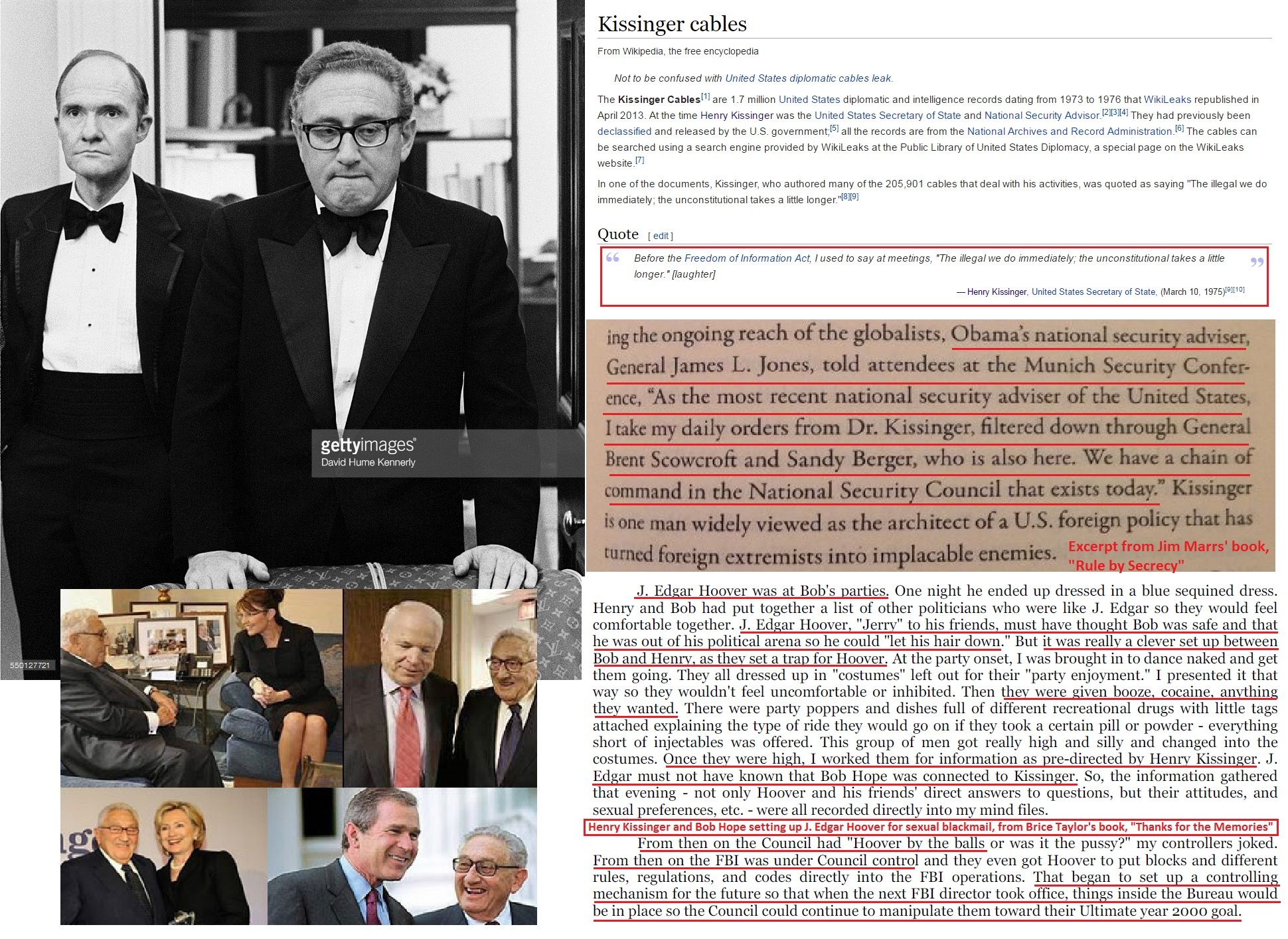 the issues of national security terrorism and henry kissingers work Up the line, he never became a confidant of henry kissinger and national security security issues such as international terrorism.