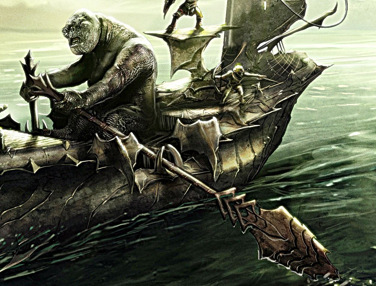 Sea Troll of Middle Earth
