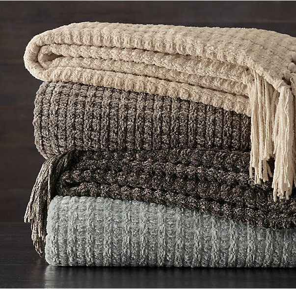 These Heavyweight Chenille Throws That You Have To Call Chenille O Neal Cozy Throws Chenille Throw Chenille Throw Pillows Chenille throws for sofas
