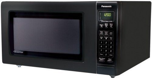 Panasonic Nn H965bf Luxury Full Size 2 2 Cubic Foot 1 250 Watt Microwave Oven Black Http Countertop Microwave Oven Small Microwave Oven Countertop Microwave