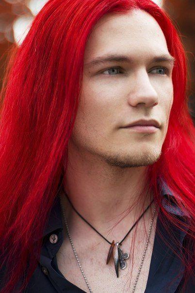Mann mit roten locken  Moderne Frisuren