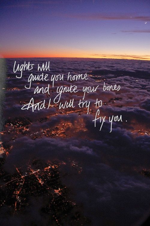 29++ Lights will guide you home coldplay lyrics info