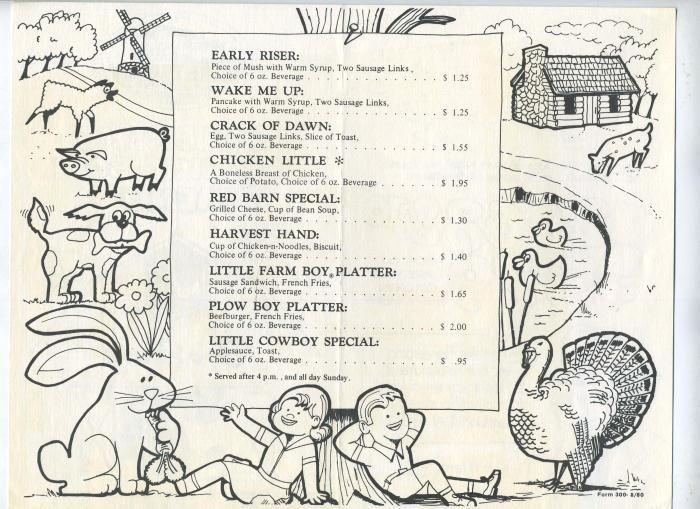 bob evans menu bjpg 700509 Menu Mailer Design Pinterest