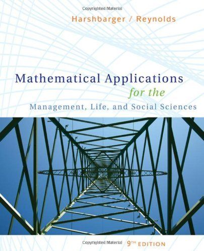 Engineering mechanics by pytel solution manual answer ebook coupon mathematical applications for the management life and social books fandeluxe gallery fandeluxe Image collections