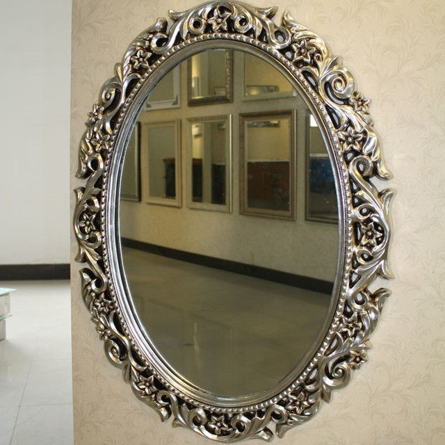 Framed Oval Bathroom Mirror Ideas   Google Search
