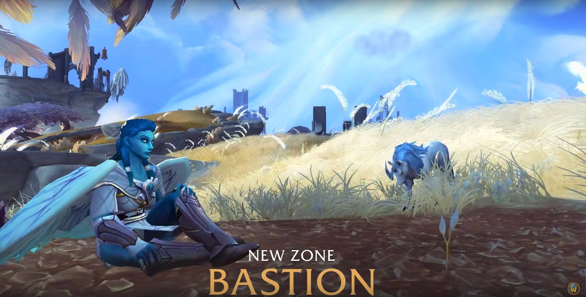 Blizzard Offers A First In Depth Look On World Of Warcraft Shadowlands Bastion Covenant Blizzard Mmo World Of Warcraft Warcraft World Of Warcraft Expansions
