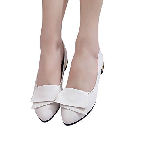 a2a1bb90b08b Hemlock Women Office Shoes Flats Sandals Soft Wedding Flats Lady Boat Wedge  Shoes (US