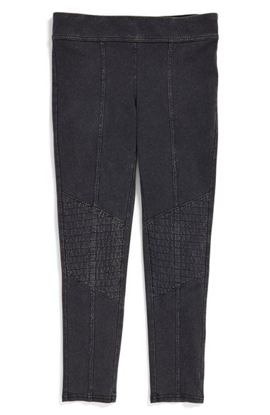 Free shipping and returns on Tucker + Tate Moto Leggings (Big Girls) at Nordstrom.com. Angled knee pads lend street-smart style to soft, stretchy leggings topped with an easy elastic waistband.