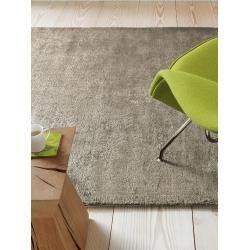 Photo of benuta viscose carpet Dolce Taupe 200×300 cm – Modern carpet for living room benuta
