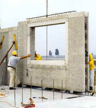 Building a home or an addition consider using rastra for Foam block house construction