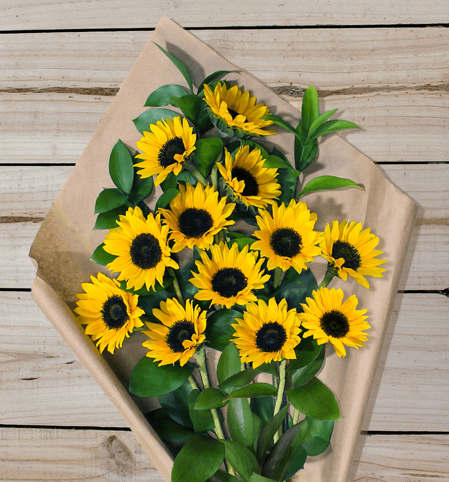 Farm Fresh Sunflowers Temas De Boda Flores Rosas