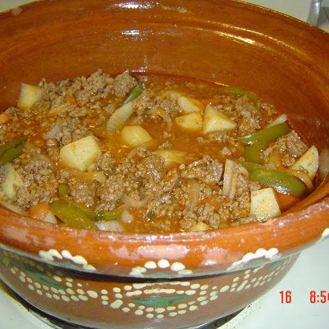 Authentic Mexican Recipe Picadillo Ground Beef Food