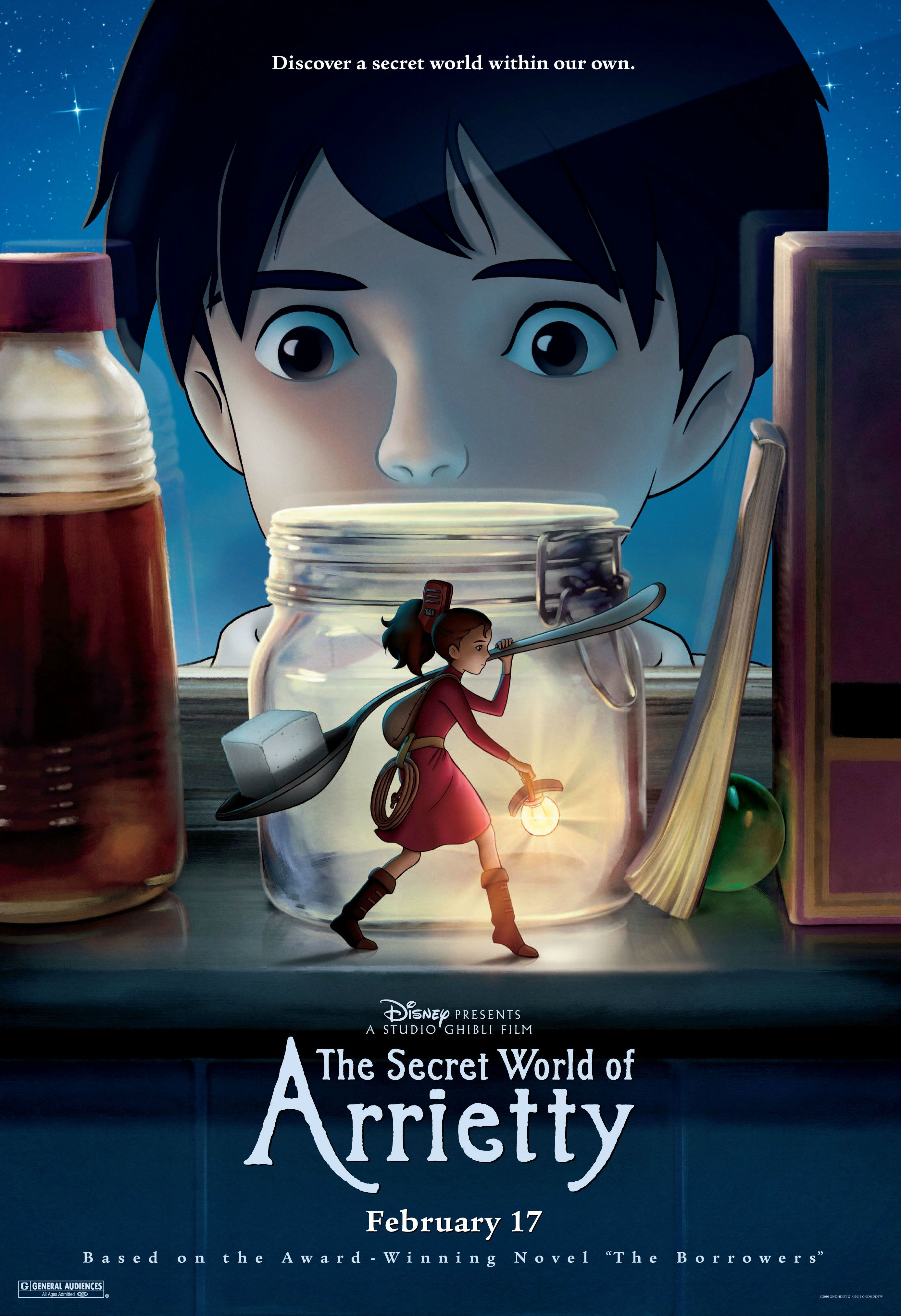 32 the secret world of arrietty 2010