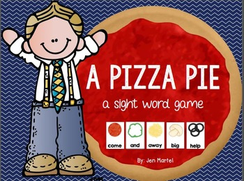 A Pizza Pie (a sight word game)