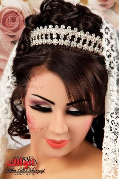 صور اجمل ميك حلو مرة للعروس لصبايا انوثتك Hair Styles Cool Hairstyles Bride