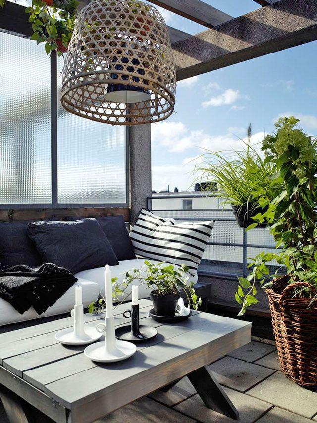 Petite terrasse bien aménagée, déco au top | Terrasse en ville, En ...