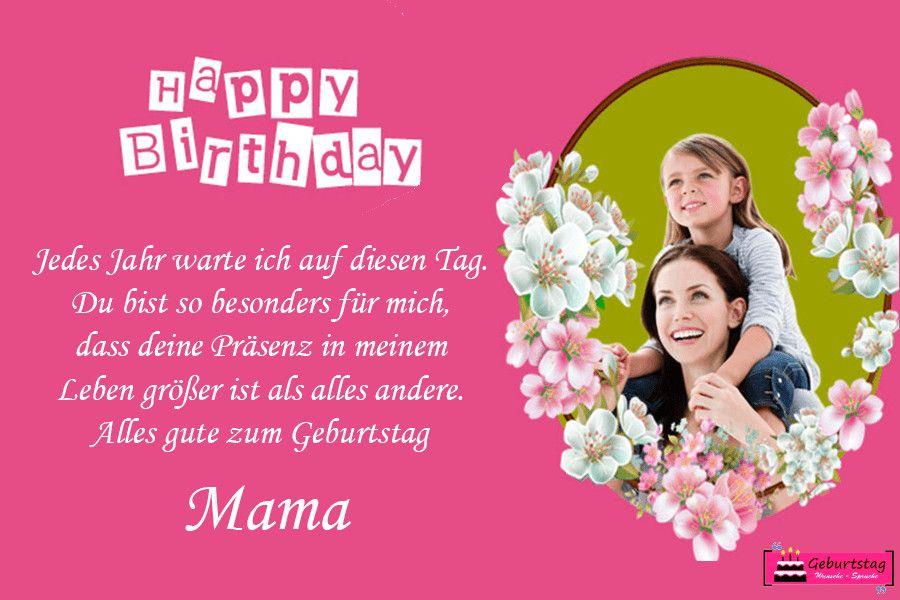 Geburtstagswünsche Mama Lustig