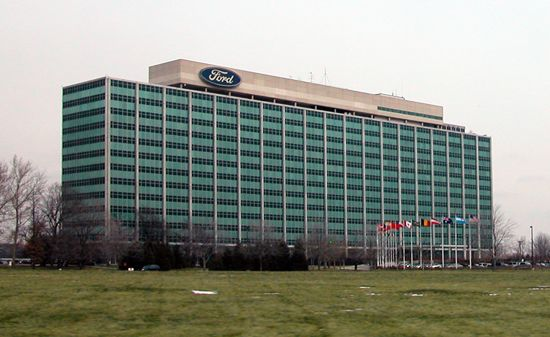Ford Motor Company World Headquarters In Dearborn Michigan I