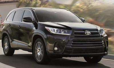 2020 Toyota Highlander Concept Mobil