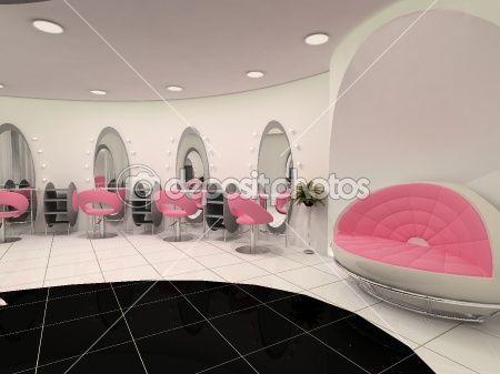 Pretty in Pink salon idea   Salon, Spa, & Barber Shop Ideas ...
