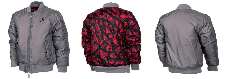 634b09c5872891 Boys  Jordan Fly Reversible Jacket Size M 10-12. FABRIC  Polyester ...