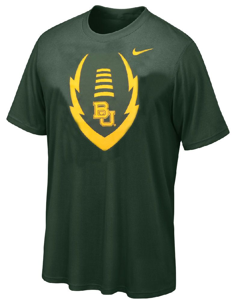 03d23f929c40 Youth Baylor Bears Football Icon Dri-FIT Mascot T Shirt by Nike  25.95