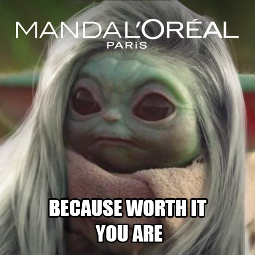 This Is The Way Yoda Funny Yoda Meme Star Wars Humor