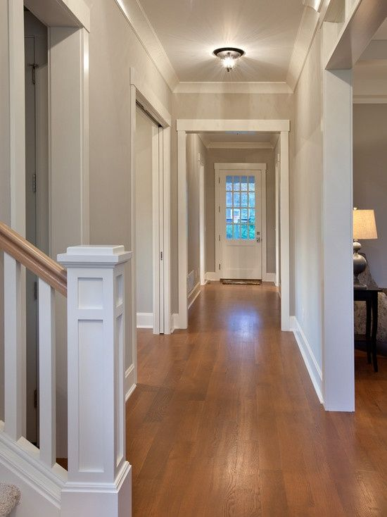 Dark Painted Moldings And Trim