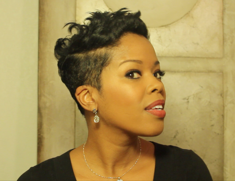 In Episode 11 Of Malinda Williams Diy Hair Series For Cocoafab The