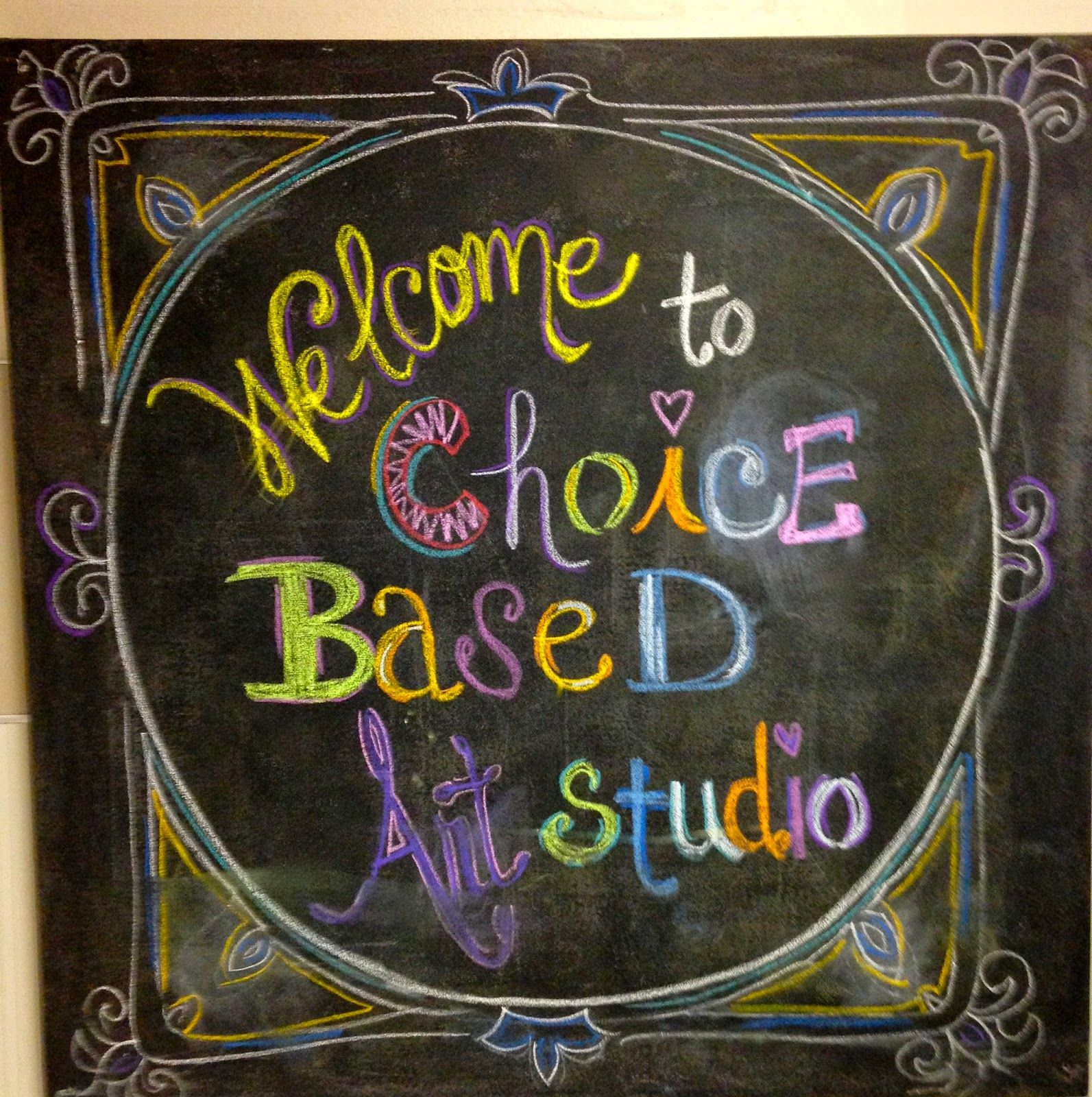 Wildcats Create Welcome To Our Choice Based Art Studio